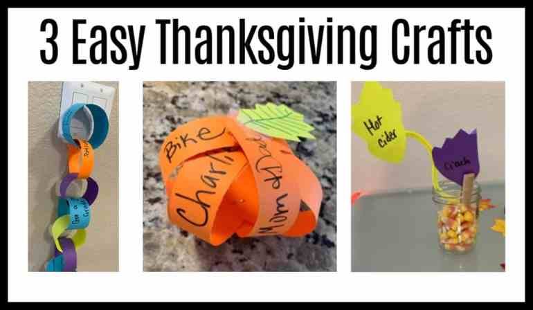 Try these simple construction paper crafts for Thanksgiving in your Sunday School or children's ministry.