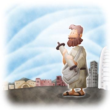 Trusting Jesus Words children's sermon on prophecy
