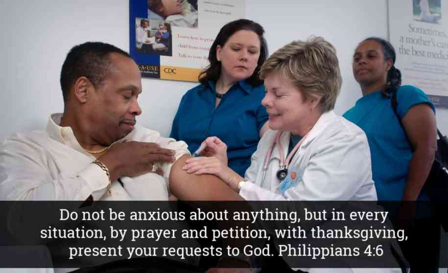 Do Not Be Anxious - Bible Verse for Coronavirus Fears