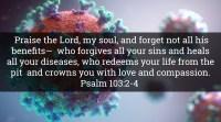 coronavirus bible verses