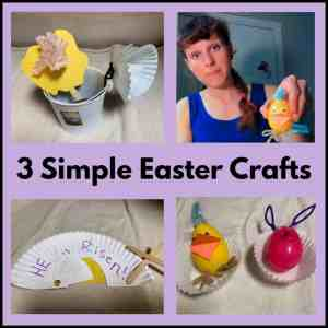 Simple Easter Crafts for Children's Ministry