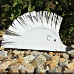 Hedgehog paper plate craft for kids