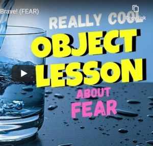 children's sermons on fear