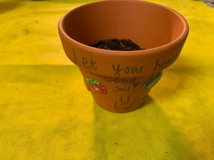"""Craft Two: """"Plant Pot""""  Parable of the Sower"""