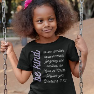 Scripture Verse T-Shirt for Kids