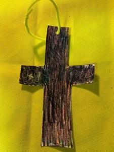 Cross craft for Sunday School