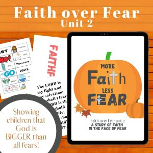 More Faith Less Fear Curriculum for Kids