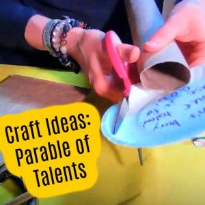 Parable of the Talents Bible Craft Ideas