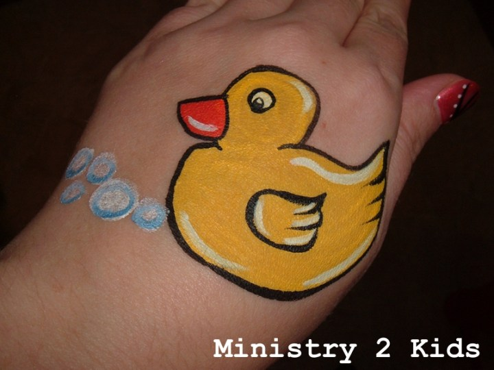 Face Paint – Rubber Duck – Ministry 2 Kids