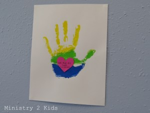 God's Children Handprint 2