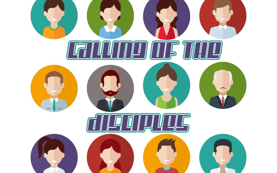 'Calling of the Disciples' Sunday School Lesson (Matthew 4:18-25)