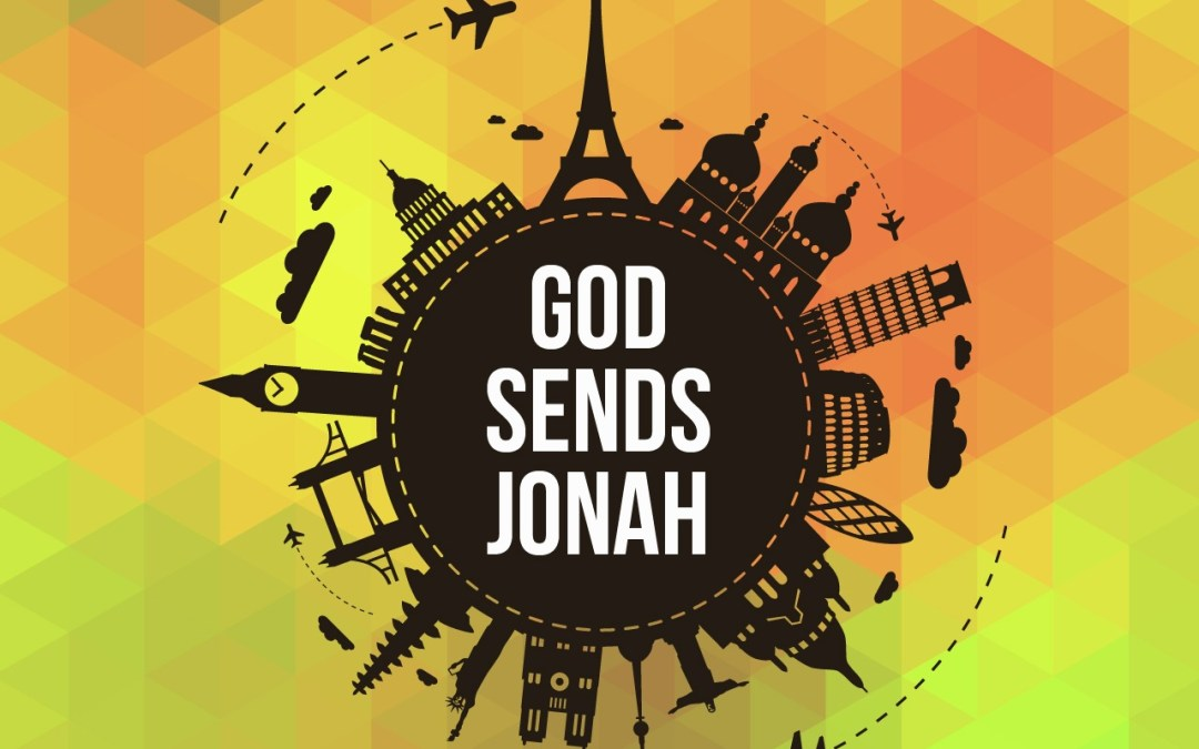 'God Sends Jonah' Childrens Lesson on Jonah