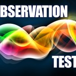 'Observation Test' Game
