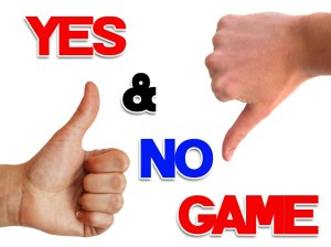 Click here for the 'Yes and No' game Powerpoint image