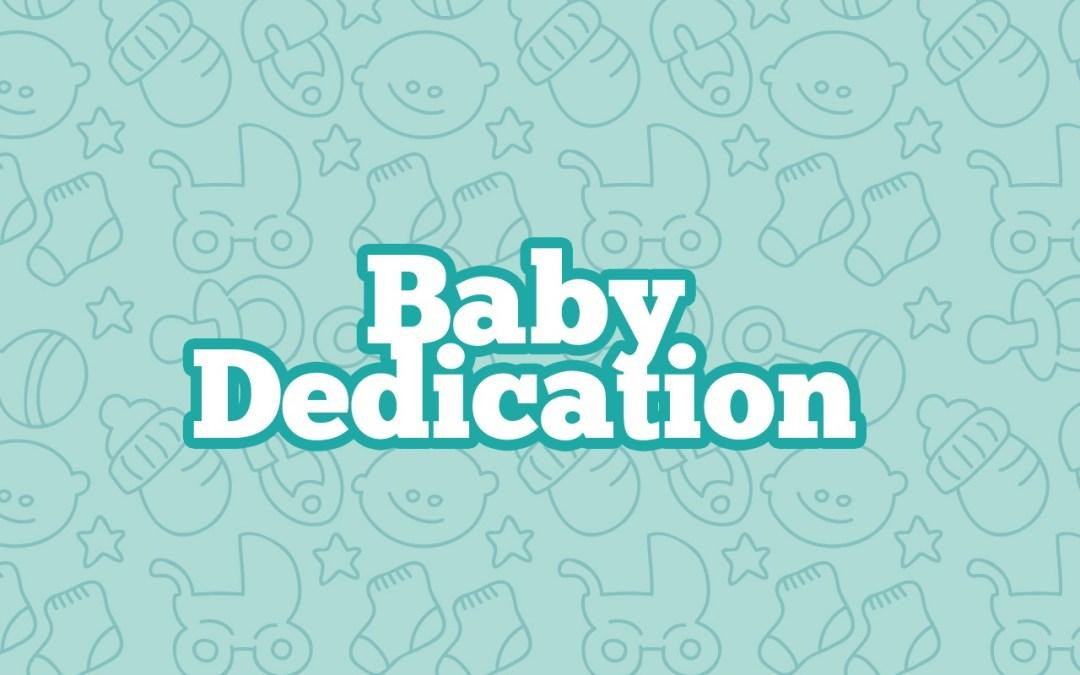 Baby Dedication Still Ministryark