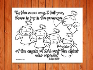 Click here for the 'Joy of the Angels' Printable