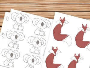 animal printables featured image