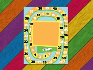 board game 2 with rainbow floor