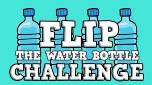 Click here for the widescreen 'Flip the Water Bottle Challenge' Game Powerpoint image