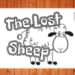 'The Lost Sheep' Printable
