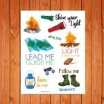 Bible Journaling – Camping Printable
