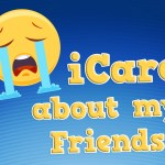 'I Care about My Friends' Emoji Childrens Lesson on Job