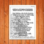 'The Lord's Prayer' Poster Printable