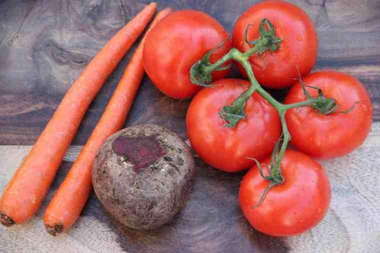tomato beet soup