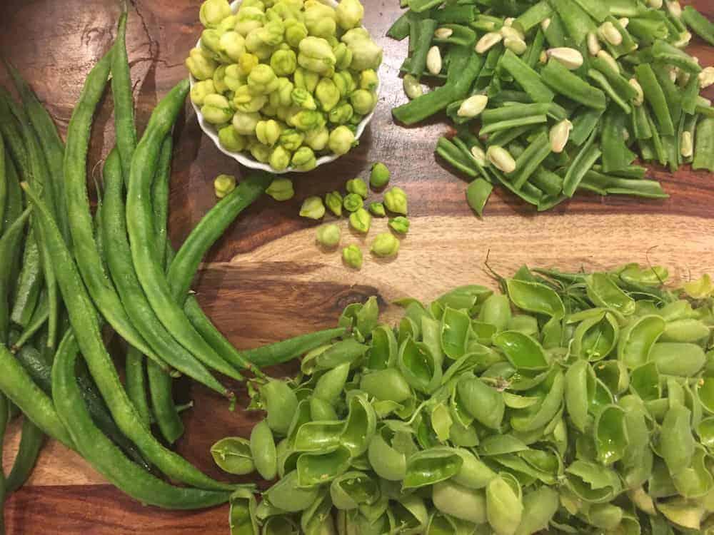 Bhogichi bhaji ingredients