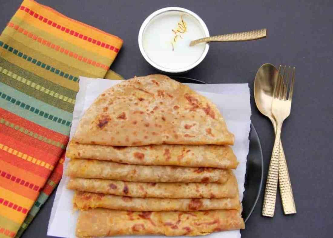 Puran Poli – a sweet lentil stuffed flatbread