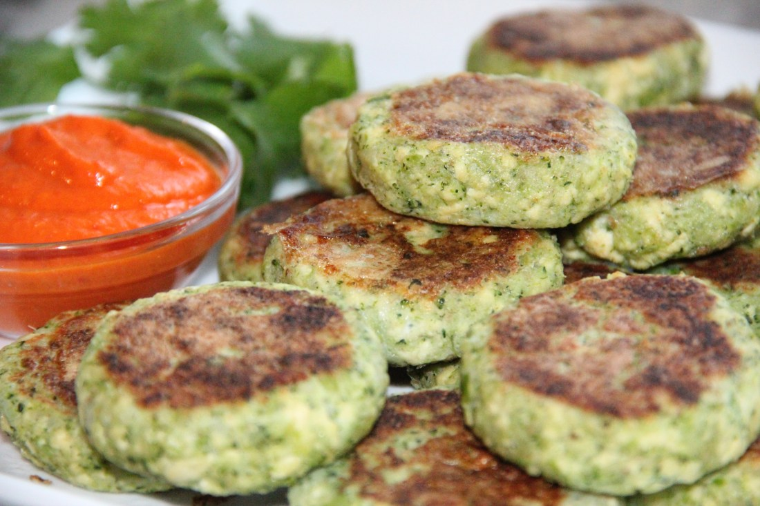 Broccoli and Tofu Cutlets