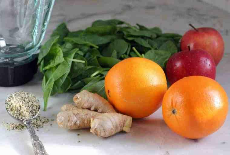 energizing-Green-smoothie-ingredients