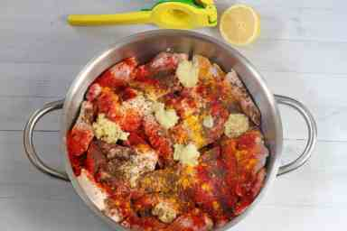tandoori chicken wings ingredients