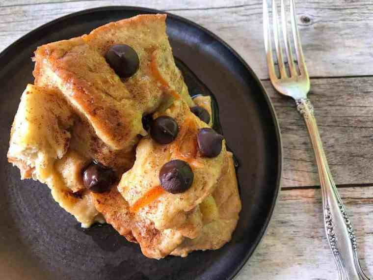 French Toast/Bread Pudding - Instant Pot