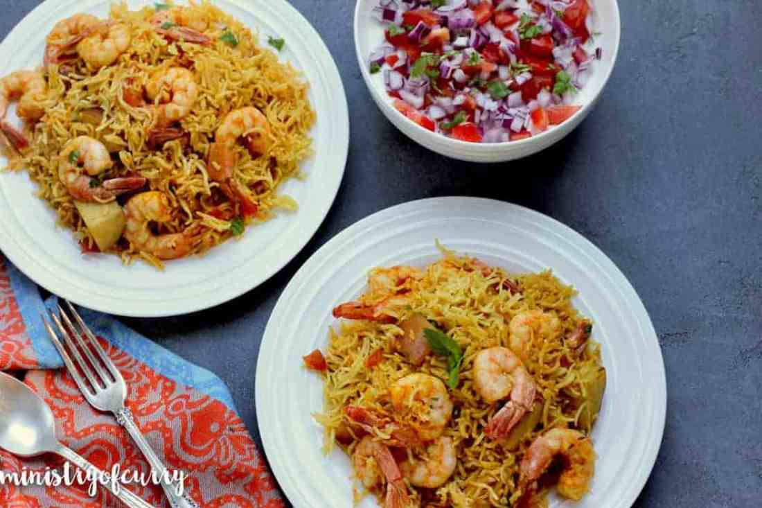 Shrimp Biryani Instant Pot
