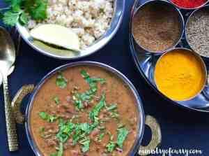 maras lentils/daal makhani