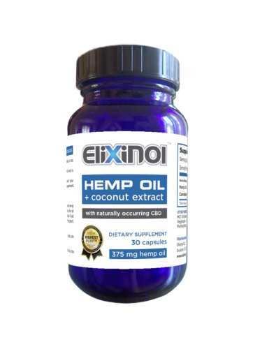 Elixinol CBD Hemp Oil Capsules (Ministry of Hemp Top CBD Capsules)