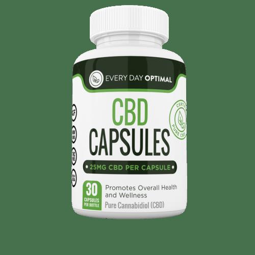 Every Day Optimal Pure CBD Oil Capsules (Ministry of Hemp Top CBD Capsules)