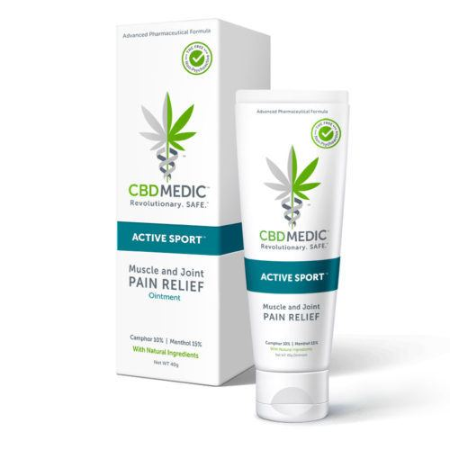 CBDMEDIC Active Sport Ointment (Ministry Of Hemp Official CBD Review)