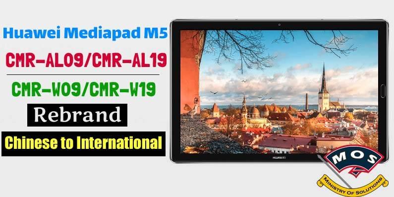 Huawei Mediapad M5 Pro Rebrand (Convert Chinese to
