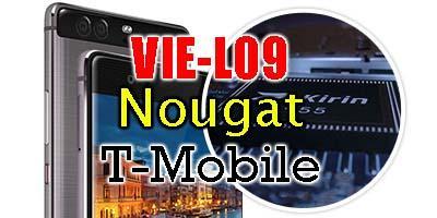 Huawei P9 Plus VIE-L09 Nougat B322 Firmware Update EMUI 5 (T-Mobile)