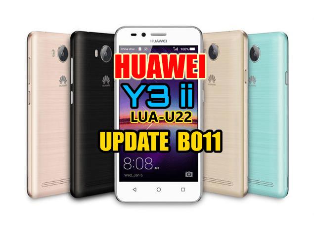 Huawei Y3 II (LUA-U22) Firmware upgrade B011 (USA) OTA