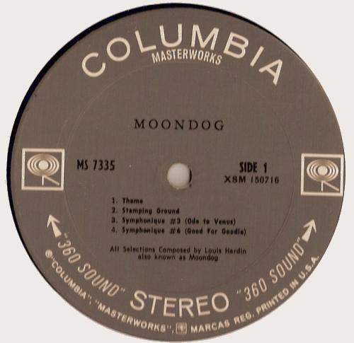 Moondog - Face A