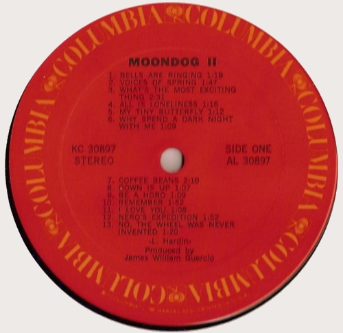 Moondog 2 - Face A