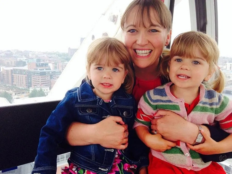 us on the big wheel day-trip-to-liverpool-with-kids-4 www.minitravellers.co.uk