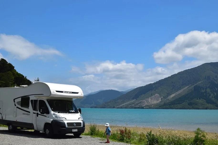 Motorhome in New Zealand