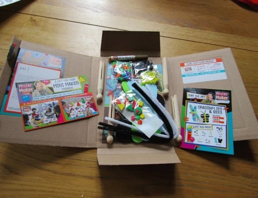 Mister Maker Craft Boxes