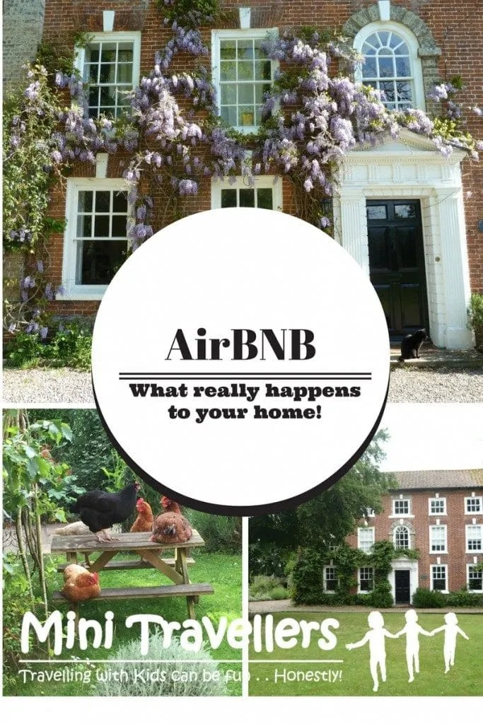 Renting your home with AirBNB