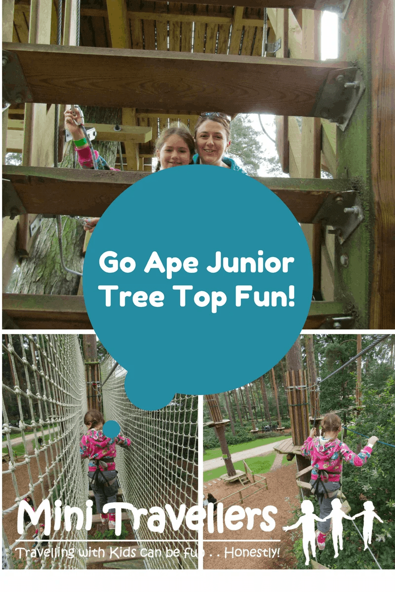Go Ape Tree Top - Junior Course Reviewed www.minitravellers.co.uk
