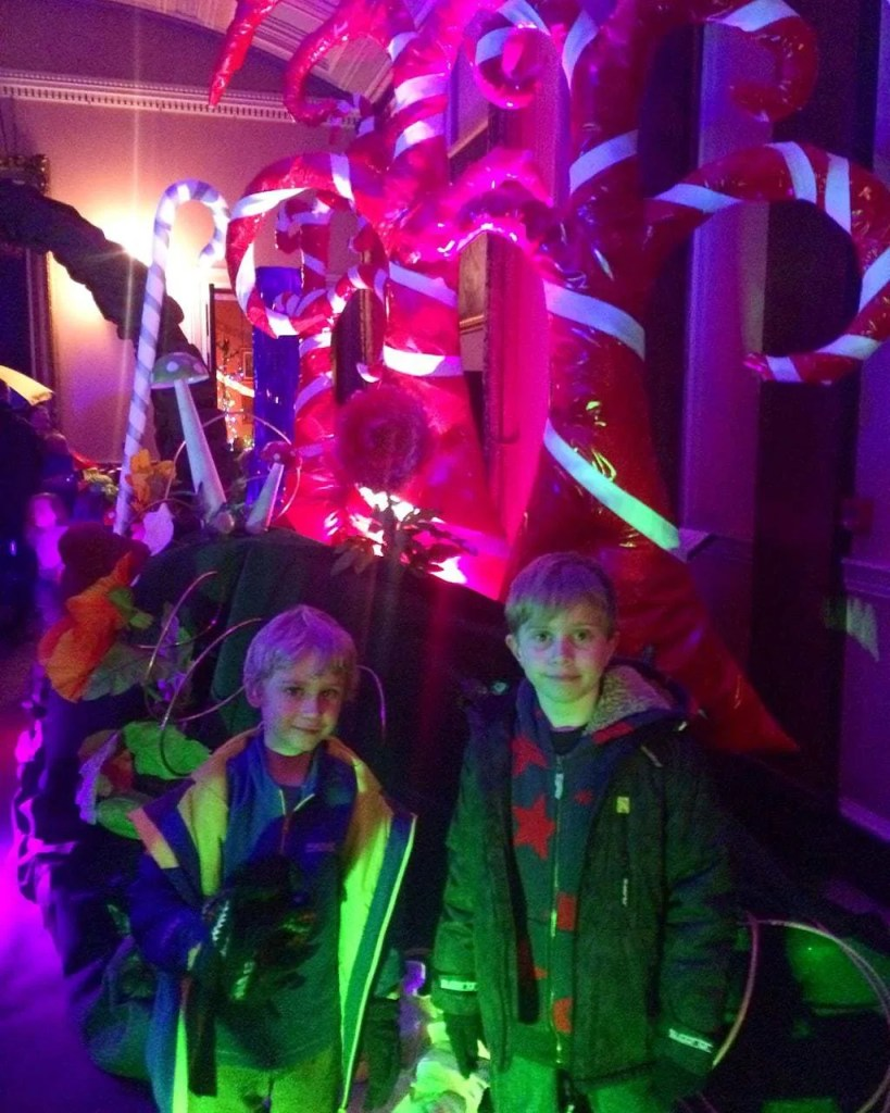 Roald Dahl's Gloriumptious Christmas at Tatton Park www.minitravellers.co.uk